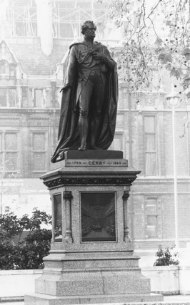 Statue of Lord Derby