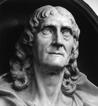 Bust of James Ravenscroft