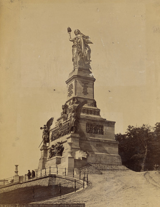 The German National Memorial with Germania