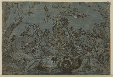Triumph of Neptune (recto)