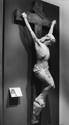 Crucifix for the Podesta Tomb in the Campo Santo di Staglieno, Genoa