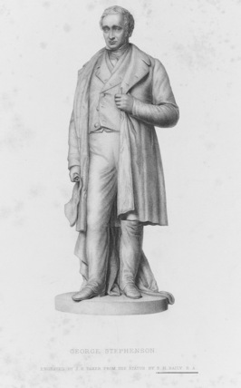 Statue of George Stephenson