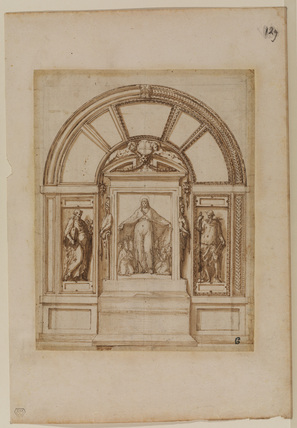 Design for an altarpiece