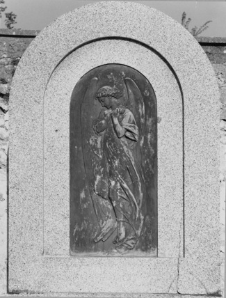 Tomb of Carlo Marochetti, with a relief by himself