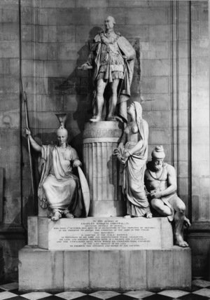 St Paul's Cathedral;Monument to Marquis Cornwallis