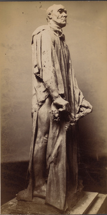 Statue of the Burgher with the Key, from the Burghers of Calais
