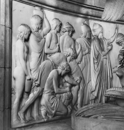St Paul's Cathedral;Biblical relief