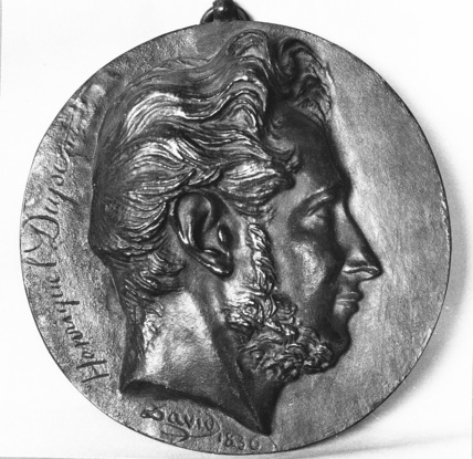 Medallion of Louis Pierre Henriquel-Dupont