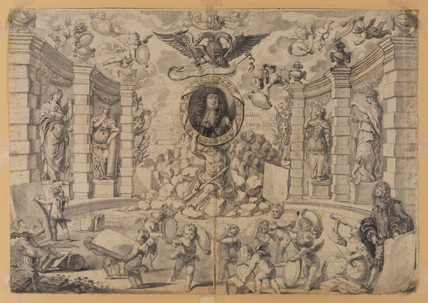 Allegory in honour of Emperor Leopold I (?)