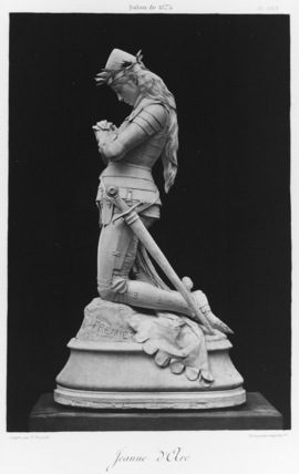 Statuette of Joan of Arc