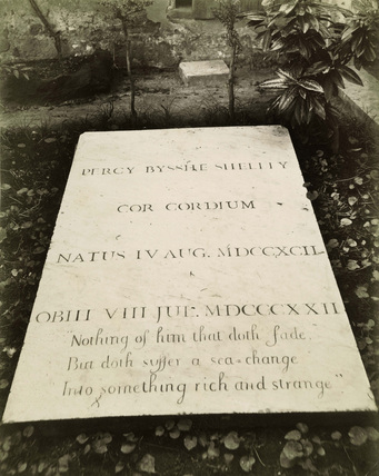 Tomb of P. B. Shelley