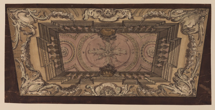 Design for illusionistic ceiling decoration