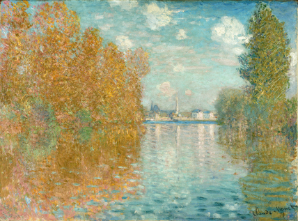 Autumn effect at Argenteuil