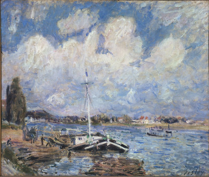 Boats on the Seine