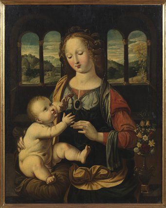 Virgin and Child (after Leonardo da Vinci)