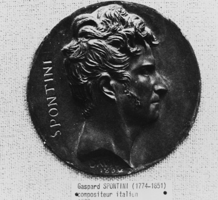 Medallion of Gaspare Spontini