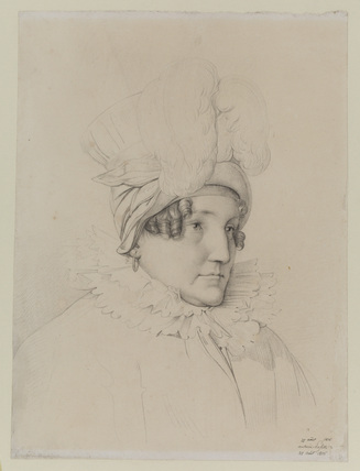 Bust portrait of a woman