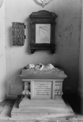 Monument to Julian and Marie Therese Vernon Harcourt