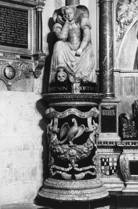 Westminster Abbey;Abbey Church;Monument to Elisabeth Russell