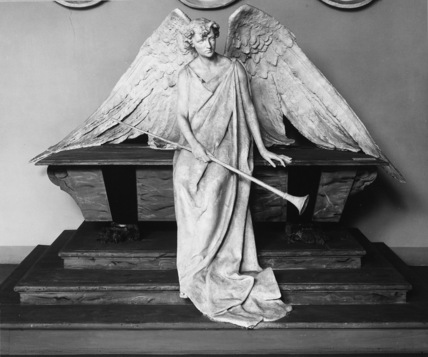 Angel, project for a funerary monument