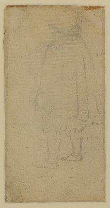 Man seen from the back (verso)