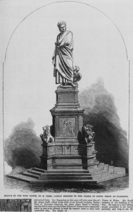 Monument to Dante Alighieri