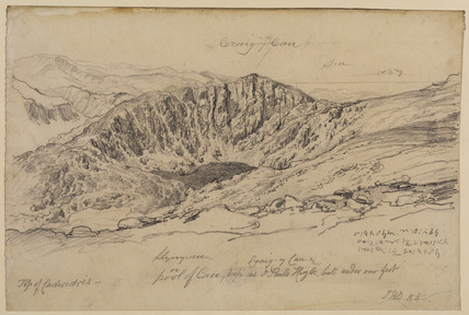 View of Cader Idris, Wales