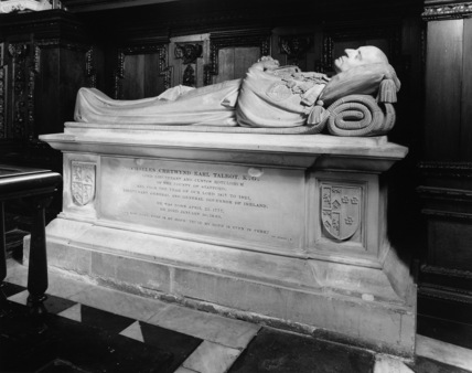 Saint Mary's Church;Monument to the 2nd Earl Talbot