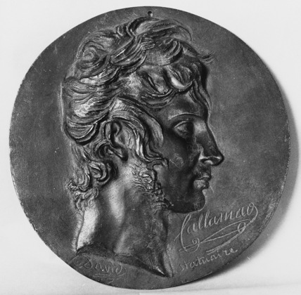 Medallion with the Portrait of Charles Antoine Callamard