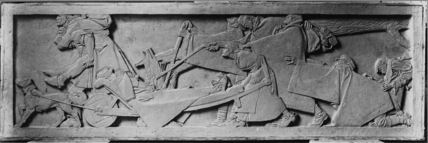 Model for relief on the Anglo-Belgian War Memorial, Brussels