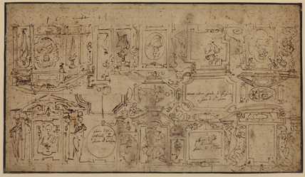 Design for a ceiling (recto)