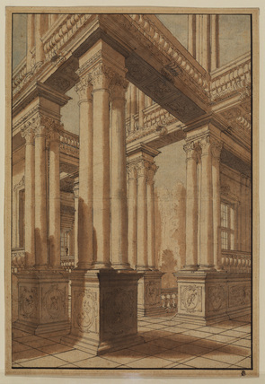Architectural capriccio - stage design