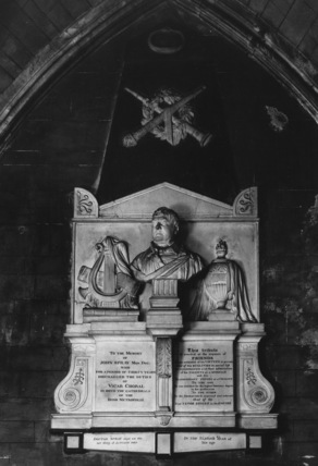 St Patrick's Cathedral;Monument to John Spray