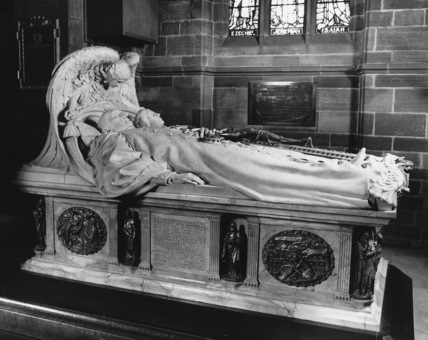 St Deiniol;Monument to W. E. Gladstone and Catherine Gladstone
