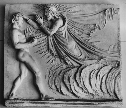 Metope for Tempio, The Creation of Man