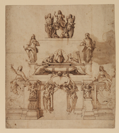 Design for the Tomb of Margaret of Austria