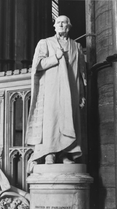 Westminster Abbey;Abbey Church;Statue of W. E. Gladstone