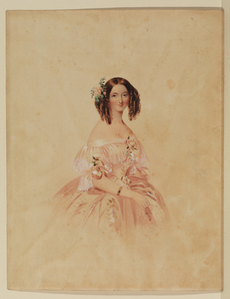 Portrait of Lady Adelaide Stanhope