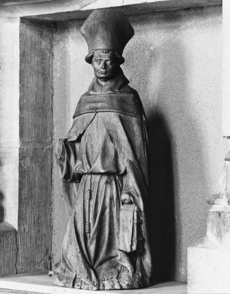 Statue of an Abbot Saint