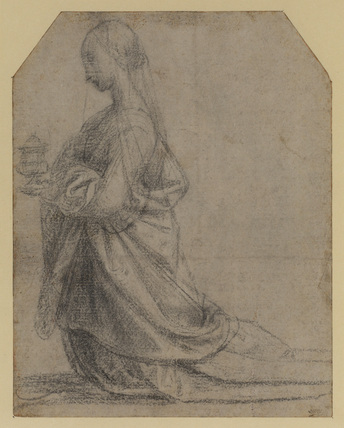 Study for Saint Mary Magdalene (recto)