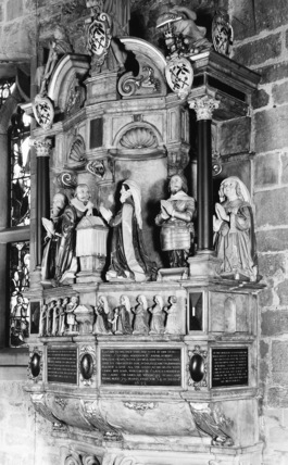 Cathedral of St Nicholas;Monument to members of the Maddison Family