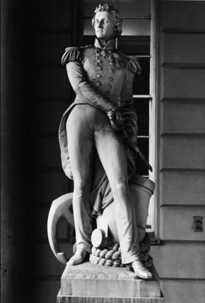 The Queen's House;Statue of Sir William Peel