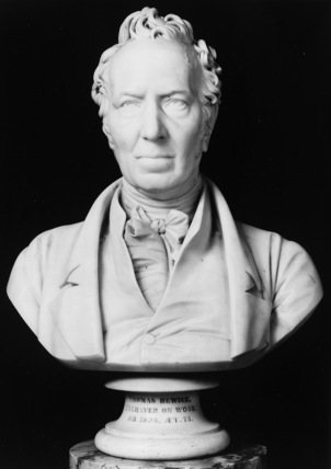 Bust of Thomas Bewick