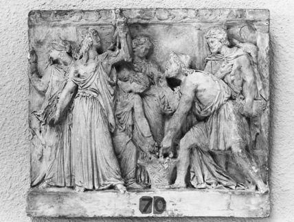 Ulysses finding Achilles at the Court of King Lycomedes
