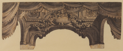 Design for part of a stage set