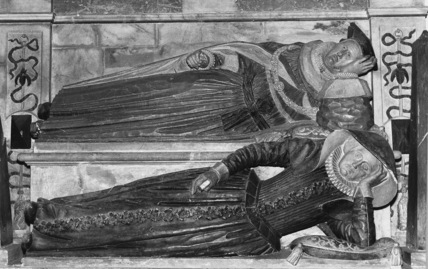 St Nicholas;Monument to Thomas Fleming and his wife
