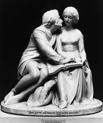 Paolo and Francesca, from Dante's Divine Comedy