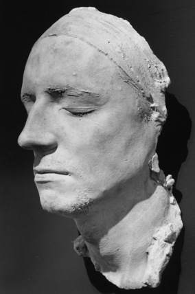 Cast of the face of a friend of Geoffroy-Dechaume