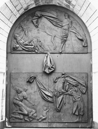 St Laurentskerk;Door of Peace and War