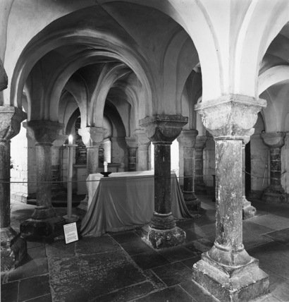 Worcester Cathedral;Cathedral Church;Crypt